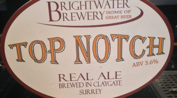 Top Notch - Brightwater Brewery