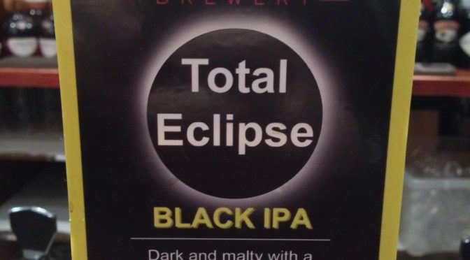 Total Eclipse Black IPA - Binghams Brewery