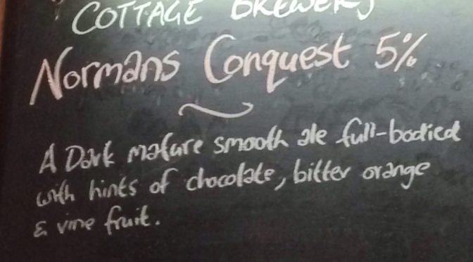 Normans Conquest – Cottage Brewery