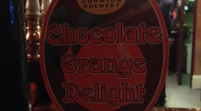 Chocolate Orange Delight - Downton Brewery