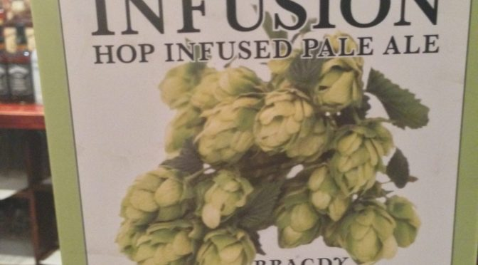 Infusion Hop Infused Pale Ale – Conwy Brewery