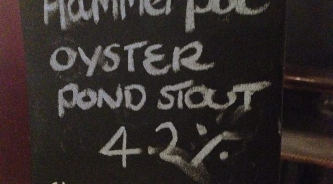 Oyster Pond Stout - Hammerpot Brewery