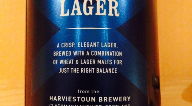 Scottish Craft Lager - Harviestoun Brewery