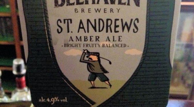 St. Andrews Amber Ale - Belhaven Brewery