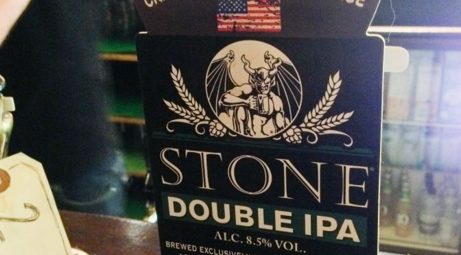 Stone Double IPA – Stone (Adnams) Brewery