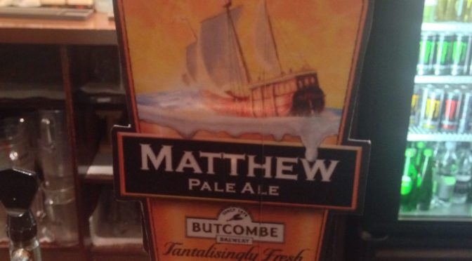 Matthew Pale Ale – Butcombe Brewery