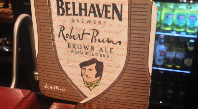 Robert Burns Ale - Belhaven Brewery