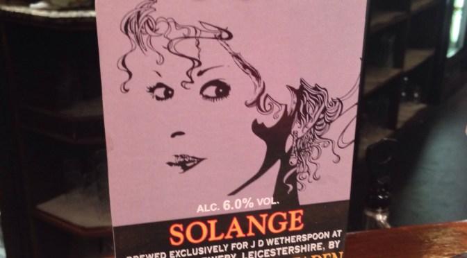 Solange – Hildegard Van Ostaden (Everards) Brewery