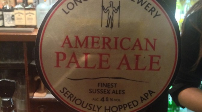 American Pale Ale – Long Man Brewery