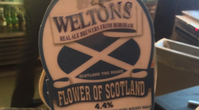 Flower of Scotland - Weltons Brewery