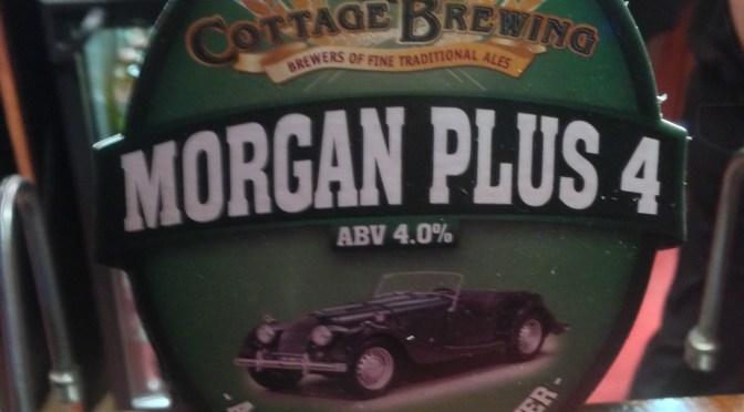 Morgan Plus 4 – Cottage Brewery