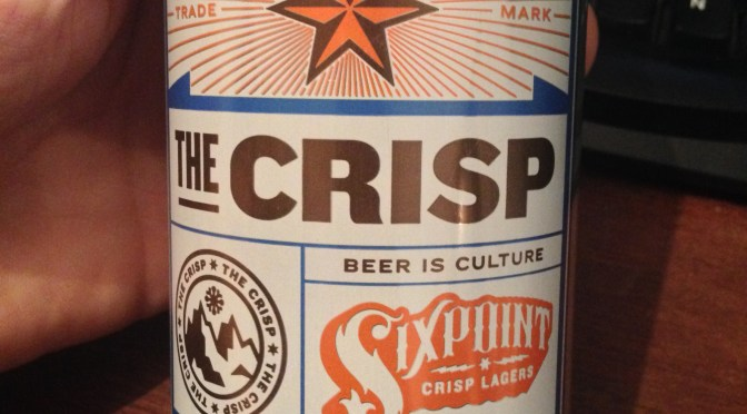 The Crisp - Sixpoint Brewery