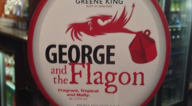 George and the Flagon – Greene King Brewery