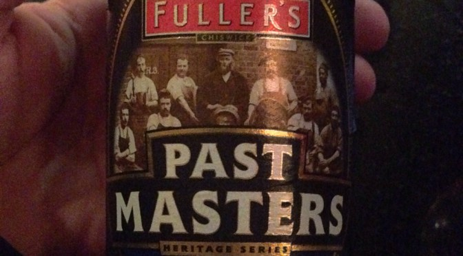 Past Masters 1966 Strong Ale – Fullers Brewery