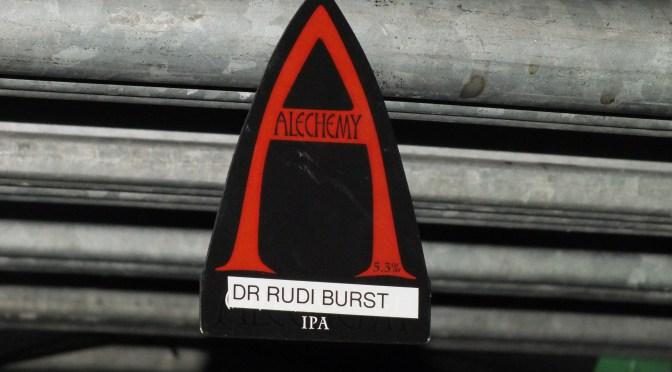Dr Rudi Burst – Alchemy Brewery