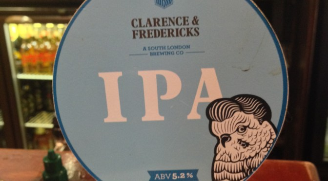 IPA – Clarence & Fredericks Brewery