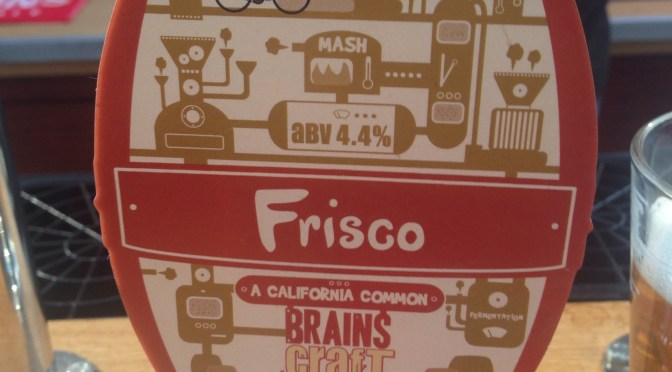 Frisco – Brains Brewery