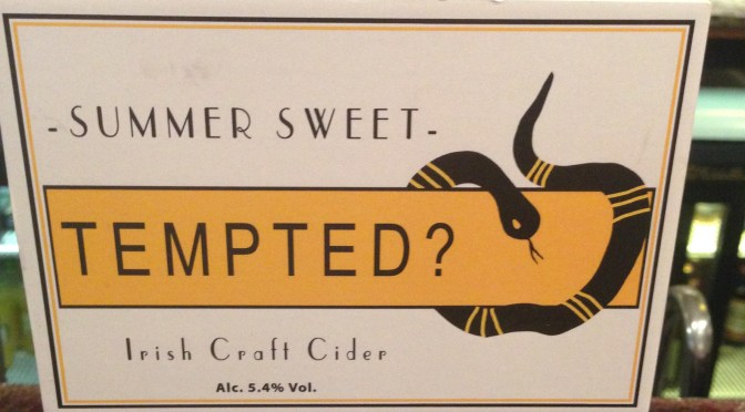 Tempted? Irish Craft Cider – DJ's Juice and Cider