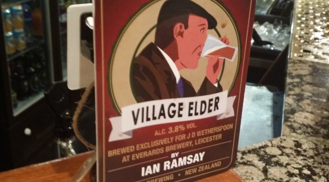 Village Elder – Everards (Ramsay) Brewery