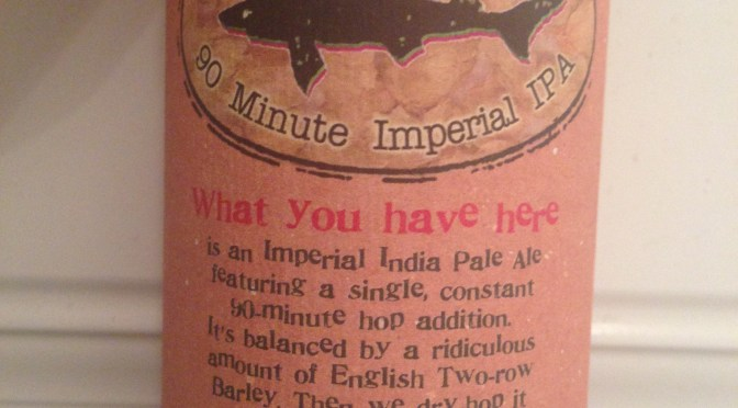 90 Minute Imperial IPA – Dogfish Brewery