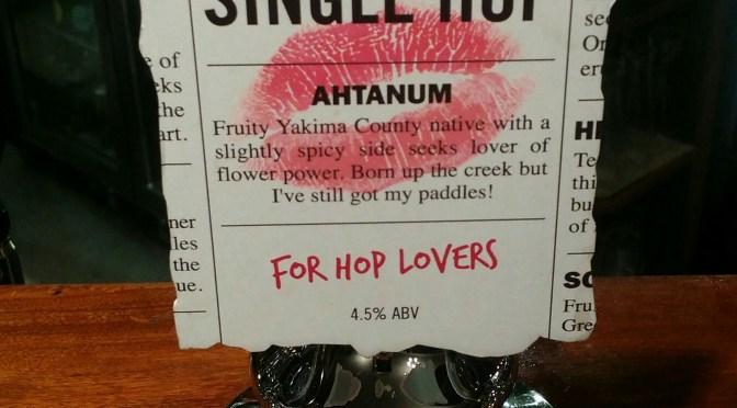 Ahtanum Single Hop – Westerham Brewery
