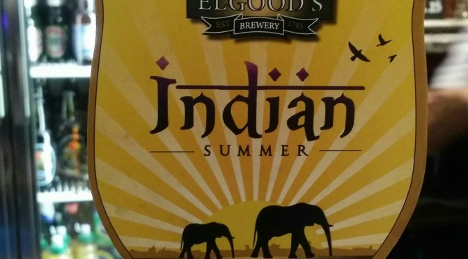 Indian Summer – Elgood's Brewery