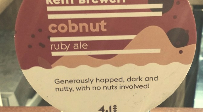 Cobnut Ruby Ale – Kent Brewery
