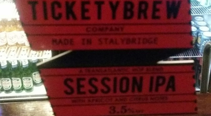 Session IPA – Ticketybrew Brewery