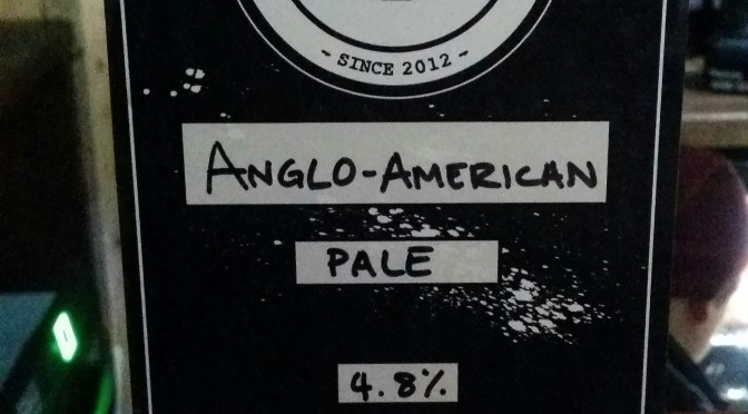 Anglo-American Pale – Cronx Brewery