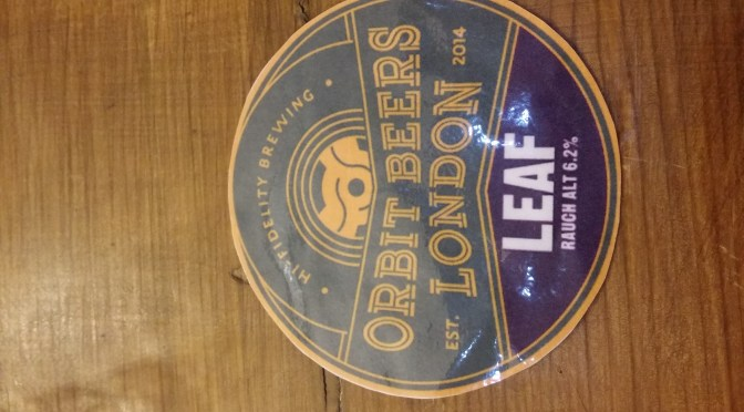 Leaf Rauch Alt – Orbit Beers London