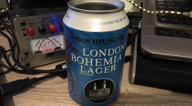 London Bohemia Lager – The London Beer Factory