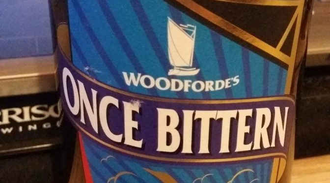 Once Bittern – Woodforde's Brewery