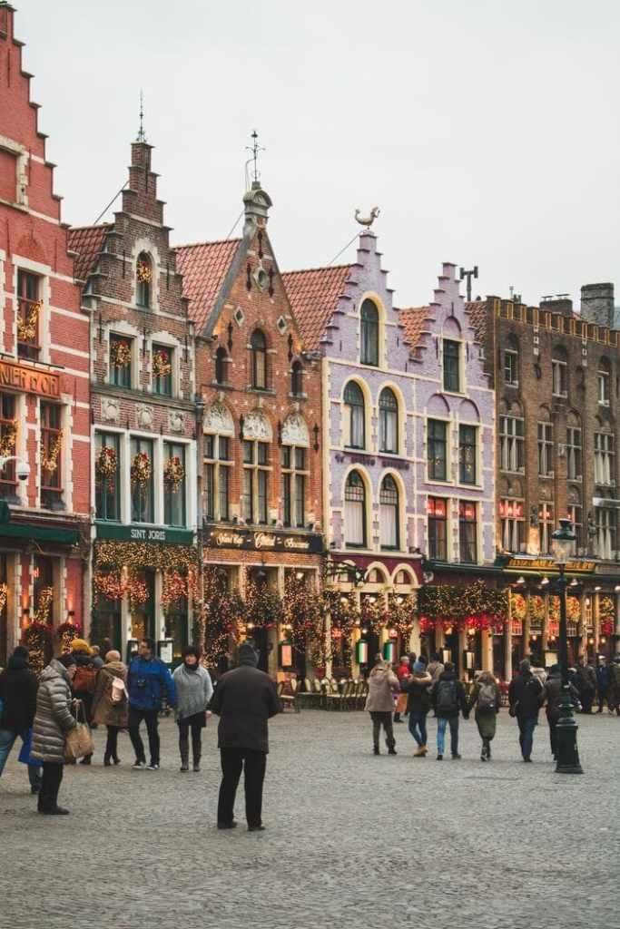 partir pas cher : Bruges @Unsplash