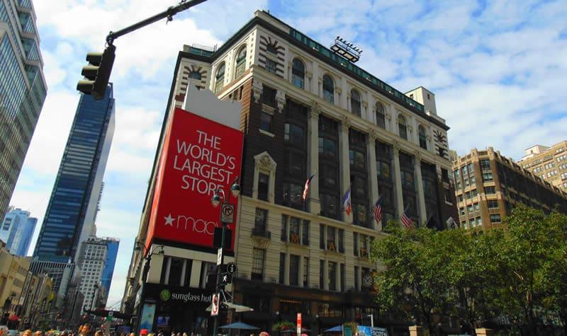Macy's, un endroit à ne surtout pas manquer pour faire du shopping à New-York !