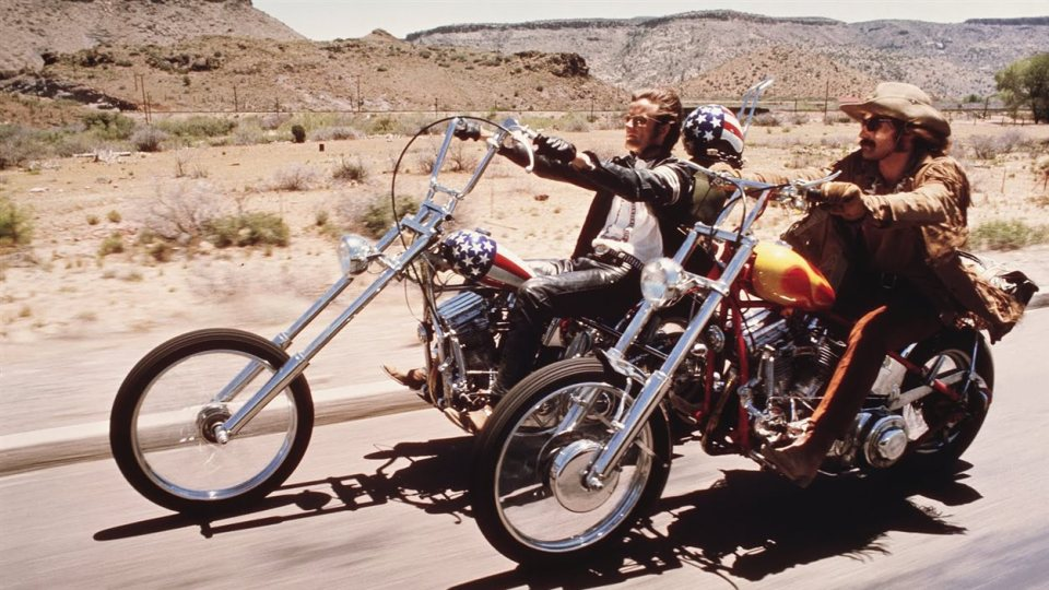 Easy rider road movie