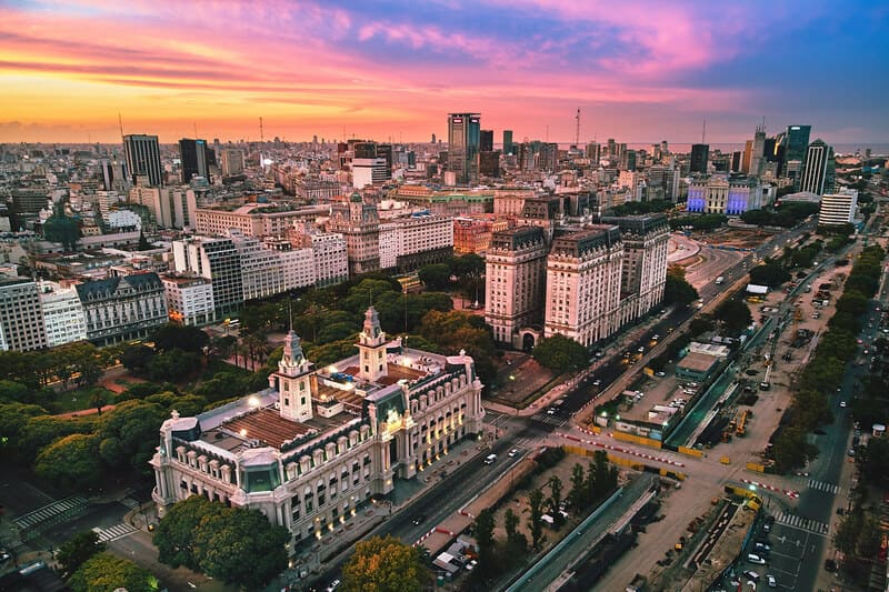 Buenos Aires est très agréable à vivre, surtout si vous êtes digital nomade !