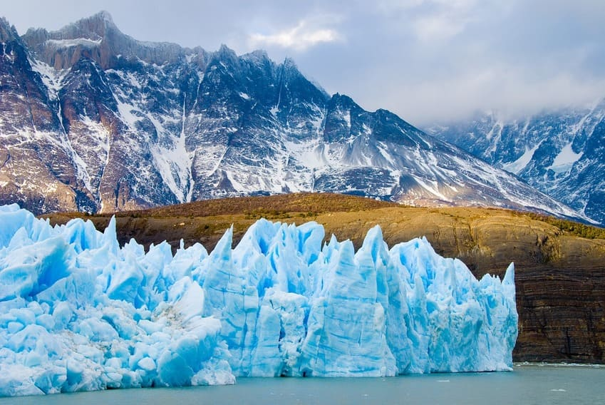mer et montagne - glaciers patagoniens
