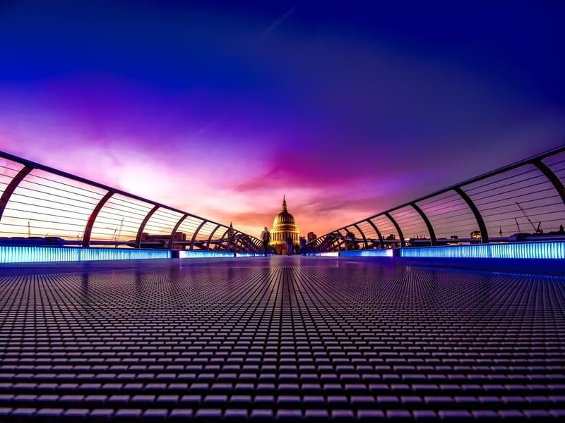 week end a Londres de nuit
