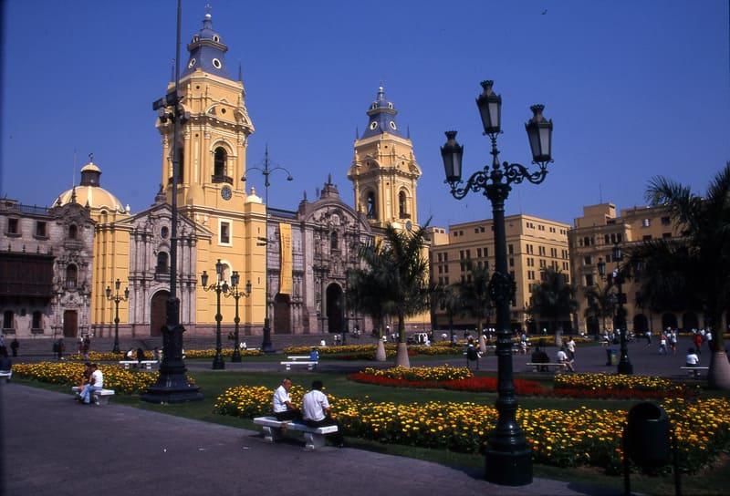 circuit au Perou - ville de Lima Pérou