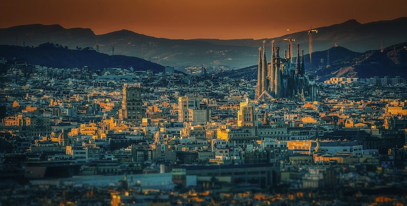 les villes du football - Barcelone et la Sagrada Familia