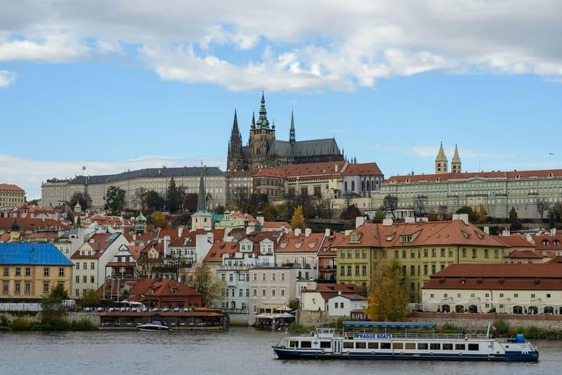 ou faire le nouvel an - croisière sur la Vltava de Prague
