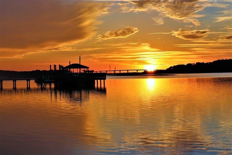 ou pecher - Hilton Head en Californie du Sud