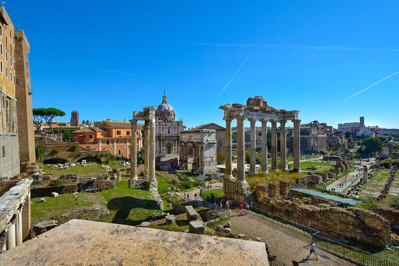 voyage en mai - forum romain Rome