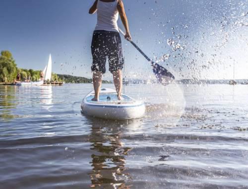 Découvrez le stand up paddle cet été !