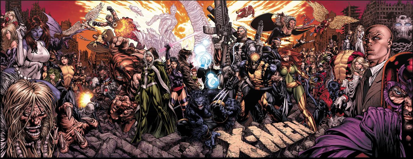 Capa de X-Men#200, de David Finch