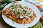 entomatadas recipe on plate and ready to eat