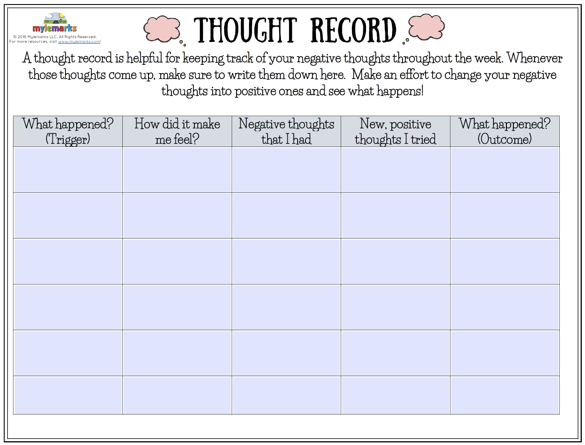 Thought Record F