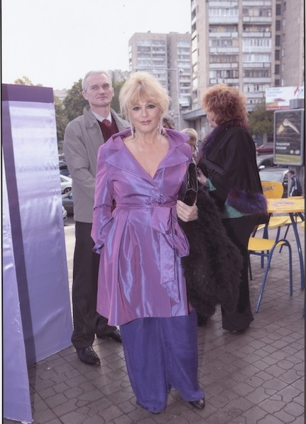 La robe Lilas de Mylène