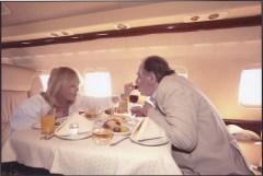 Mylène et Bogdan dans le Jet privé du maire