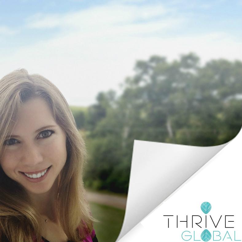 Mylène Besançon Accepts Invitation to Become Thrive Global Contributor